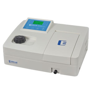 visible spectrophotometer / tungsten / single-beam