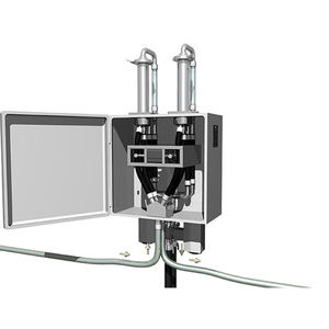 continuous dosing feeder / for pharmaceutical products / for powders