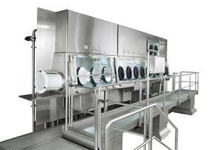 containment isolator / dispensing / sampling / drying