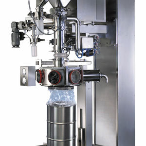 drum filling machine / powder / high-containment