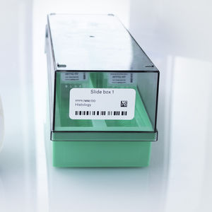 storage bottle label / for microscope slides / for freezer boxes / chemical-resistant