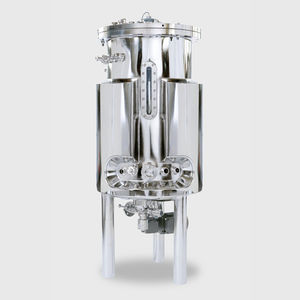 cell culture bioreactor / for the pharmaceutical industry / dry heat / with agitator