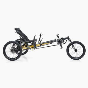 adult recumbent trike / foldable / all-terrain