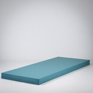 hospital bed mattress / foam / anti-decubitus / waterproof