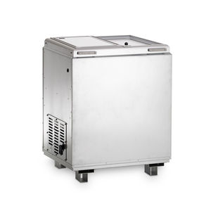 cooling cabinet / transfer / for temperature-sensitive products / with sliding door