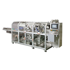automatic packaging machine / floor-standing / for the medical industry / high-speed