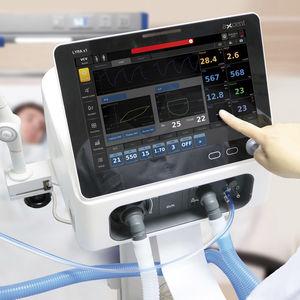 electronic ventilator / intensive care / transport / multi-mode