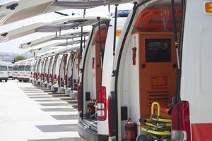 intensive care ambulance / paramedics / van / light van