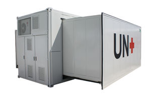 container mobile health vehicle / general medicine