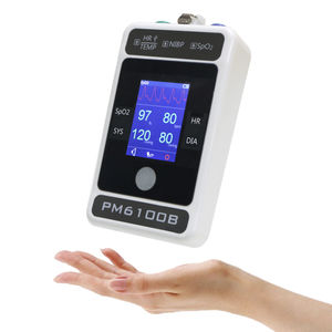 general medicine blood pressure monitor / automatic / arm / compact