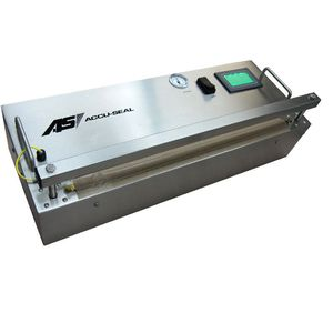 medical packaging heat sealer / impulse / benchtop / with touchscreen