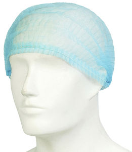 unisex scrub cap / breathable / non-woven / disposable