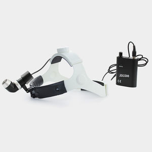surgical head-light / medical / LED / with rechargeable battery
