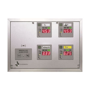 medical gas alert system / with automatic detection