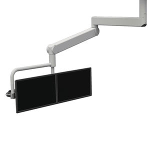 ceiling-mounted monitor support arm