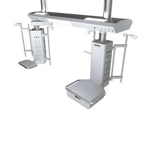 bridge type pendant / ceiling-mounted / intensive care