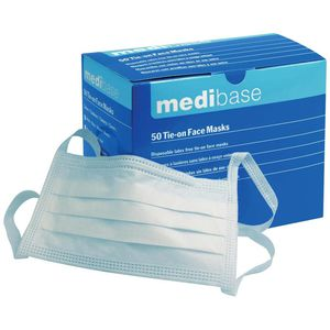 3-ply surgical mask / type I / disposable