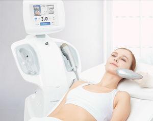 ultrasound lipolysis unit / ultrasound peeling unit / trolley-mounted