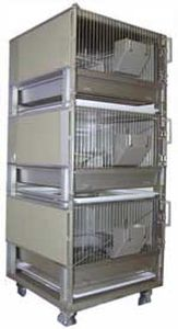 rabbit animal research cage