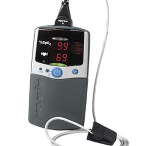 fingertip pulse oximeter / compact / veterinary / for animal research
