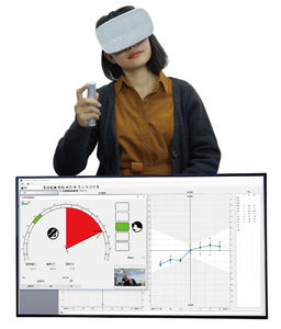 vestibular testing virtual reality goggles