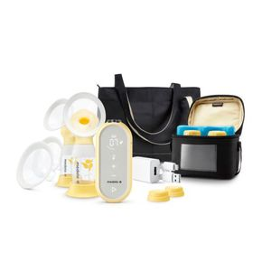 electric breast pump / hand-held / double