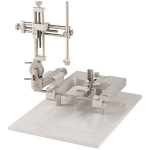 rat veterinary stereotactic frame / for mice / for animal research / bench-top