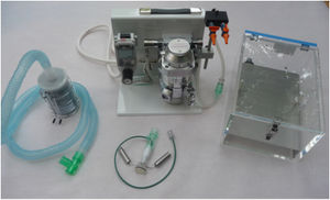 small animal anesthesia workstation