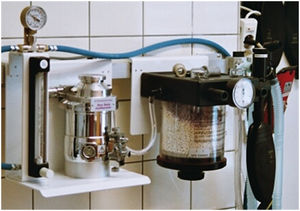 anesthesia machine carbon dioxide absorbent