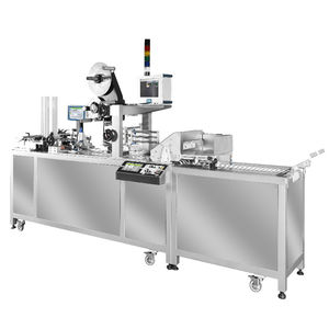 pharmaceutical industry labeling machine / automatic