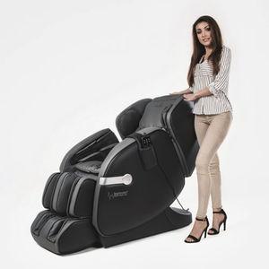 Shiatsu massage armchair / heated
