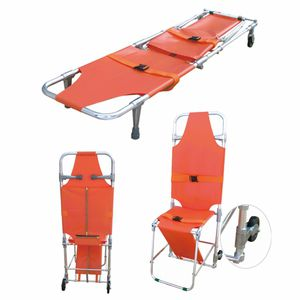 manual stretcher chair / folding / stand-up / 3-section