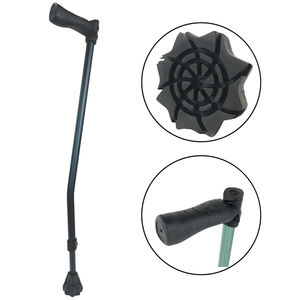 walking stick with offset handle