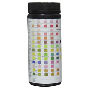 urinalysis test strip / pH / protein / glucose