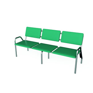 beam chair with armrests
