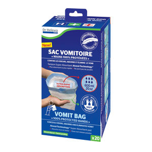 plastic vomit bag