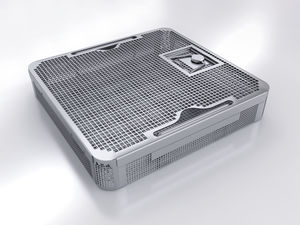 perforated sterilization tray