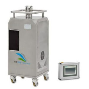 disinfection system with touchscreen