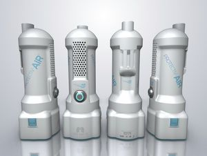 healthcare facility air purifier / compact