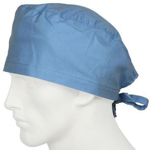 close-fitting scrub cap