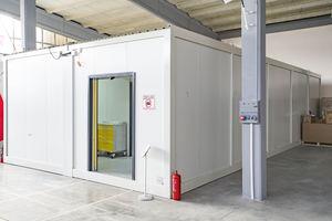 container intensive care unit