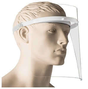 polyethylene face-shield