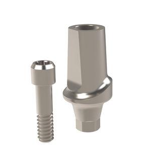 straight implant abutment