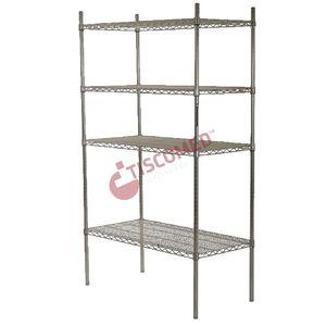 4-shelf shelving unit