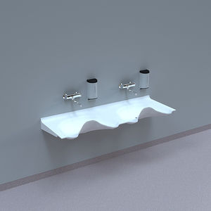 2-station surgical sink