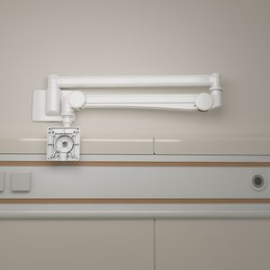 wall-mounted tablet PC support arm