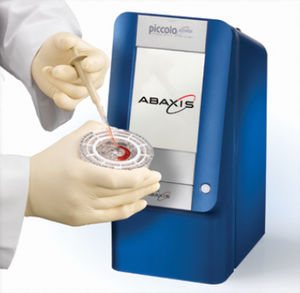 semi-automatic biochemistry analyzer / for clinical diagnostic / compact / portable