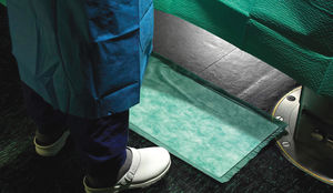 absorbent medical mat / for surgery units