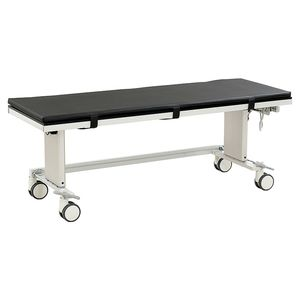 height-adjustable angiography table