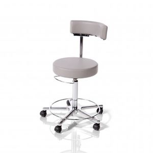 height-adjustable doctor's chair